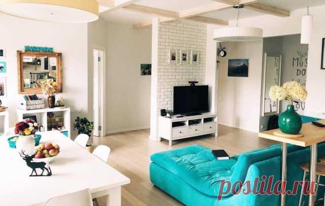 Личный опыт: просторная квартира с мебелью ИКЕА — INMYROOM