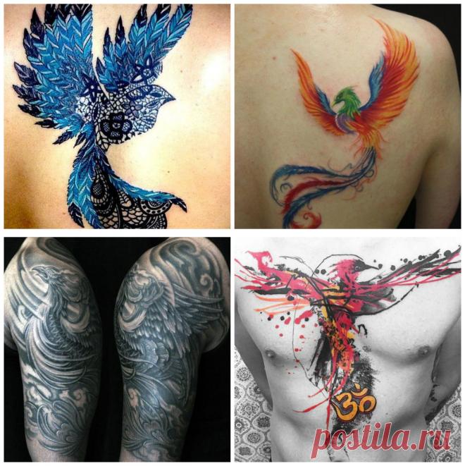 Phoenix Tatuaje El Ave Fénix En Las Tendencias Actuales De Arte