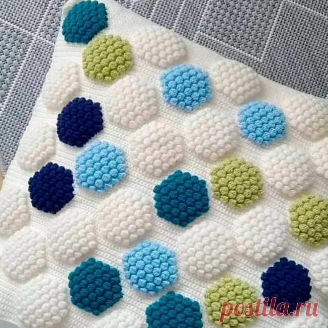 Пиксельное вязание и пышные столбики | Рукоделие от OvechkaMaster.ru | Яндекс Дзен