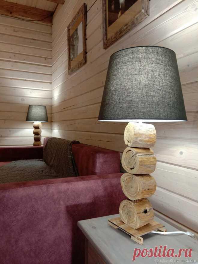 Лампа настольная.Дуб реликтовый.Массив – заказать на Ярмарке Мастеров – M7W8QRU | Настольные лампы, Москва