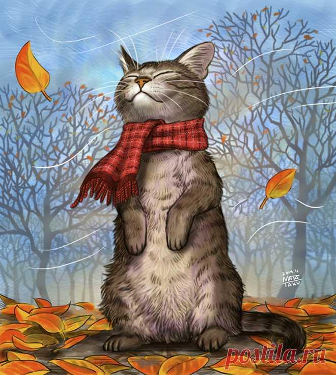 Осень рисунки прикольные