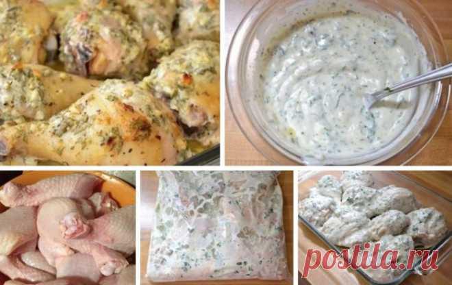 Сочно и вкусно: Куриные голени в сметанном маринаде