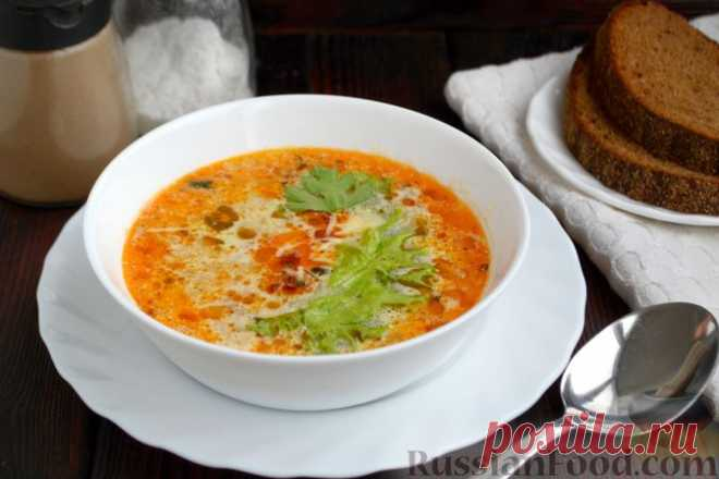 Рецепт: Тосканский суп с фаршем на RussianFood.com