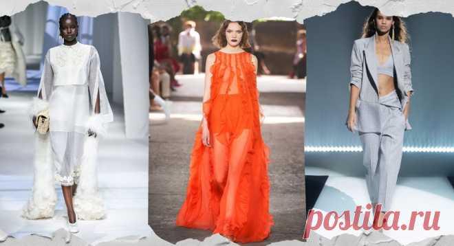 Модные тенденции весна-лето 2021 - Гид по самым модным вещам, стилям, фасонам, принтам и расцеткам Весна - Лето 2021... удобная одежда, романтические платья и сверкающие наряды, не будет недостатка в красивых цветах и сочных оттенках