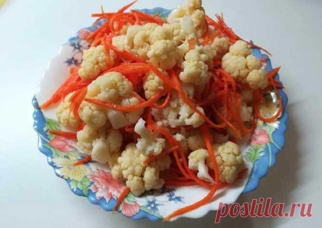Цветная капуста по-корейски - Cookpad
