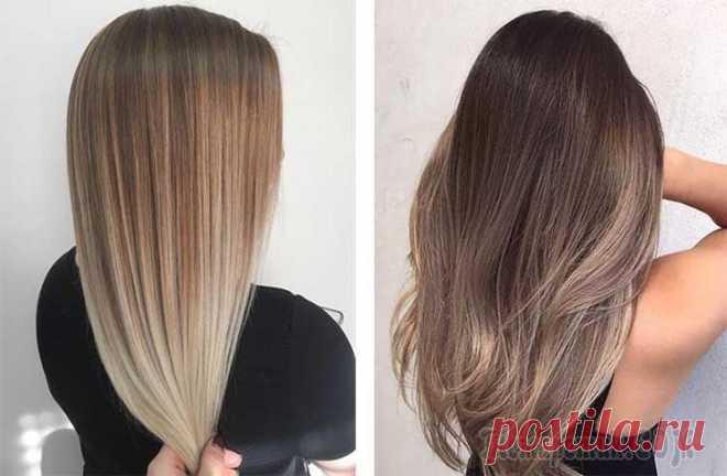 Растяжка цвета на волосах: все виды окрашивания Растягивание цвета на волосах — это очень популярная техника окрашивания, которая полюбилась всем женщинам без исключения. Подобная техника подразумевает плавный переход цвета от более темного у корне...