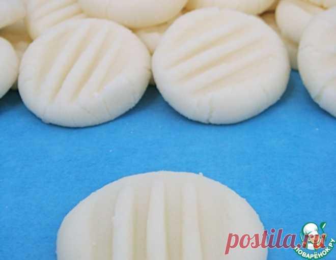 Мятные монетки из сливочного сыра – кулинарный рецепт