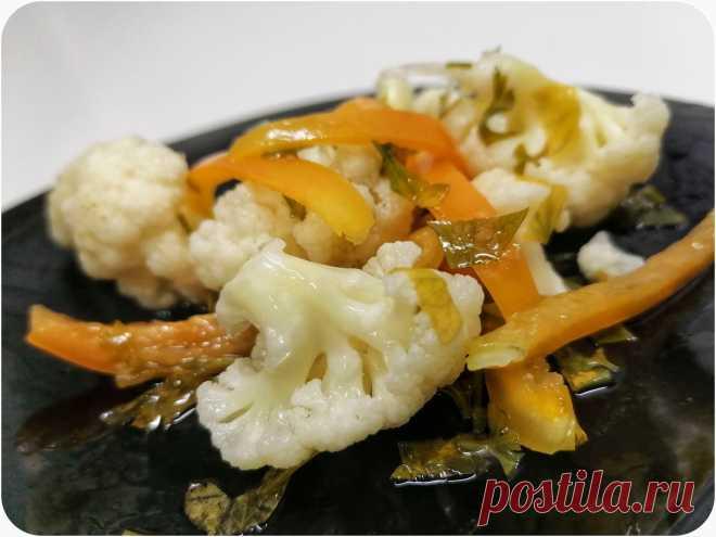 Хрустящая маринованная цветная капуста: вкус и польза в одном блюде | Анна Юрагина | Простые рецепты | Пульс Mail.ru Идеальная закуска