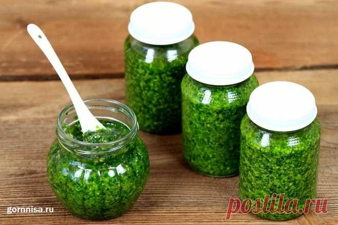 Рецепт недели - Соленая паста из черемши или зеленого чеснока Рецепт недели - Соленая паста из черемши или зеленого чеснока. Замечательная домашняя заготовка сделает вкус любого блюда более ярким
