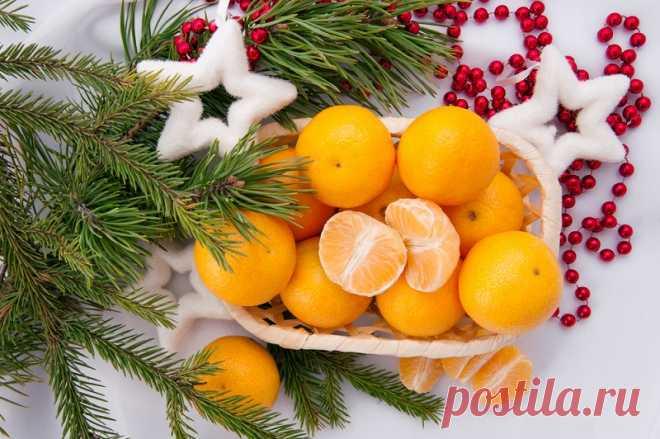 Кожура мандарина против 7 болезней