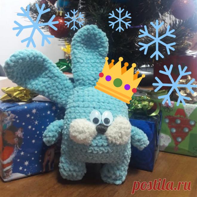 Снежный зайчик! Покорил сердца многих наших сотрудниц!!!