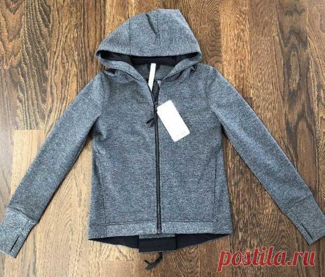 New Lululemon City Trek Jacket Heathered Black 6 $128 | eBay