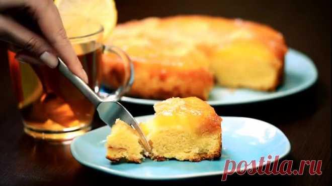Ананасовый пирог! Вкусная и быстрая выпечка к чаю