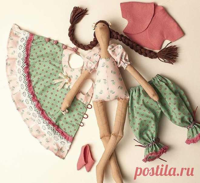 Как сшить куклу тильду пошагово с выкройкой