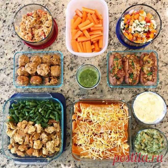 Готовим впрок или как за 3 часа наготовить еды на неделю вперед