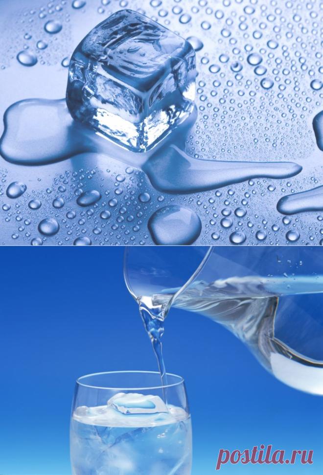 Замороженная вода: правильная очистка и заморозка воды для питья