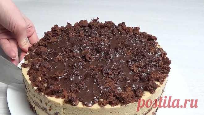 Вкусный быстрый торт-суфле