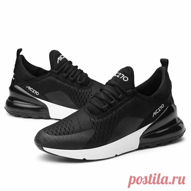 Men's soft breathable running sneakers shockproof casual sport shoes outdoor hiking walking jogging Sale - Banggood.com