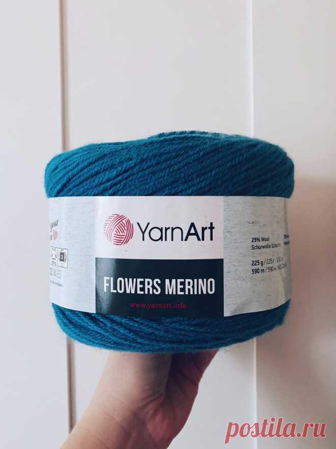 Пряжа Flowers Merino | Мария - Вязание спицами и крючком | Яндекс Дзен