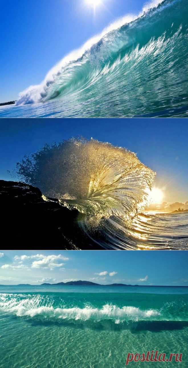(+1) tema - la Fotografía de las ondas y las ONDAS | el TURISMO Y el DESCANSO