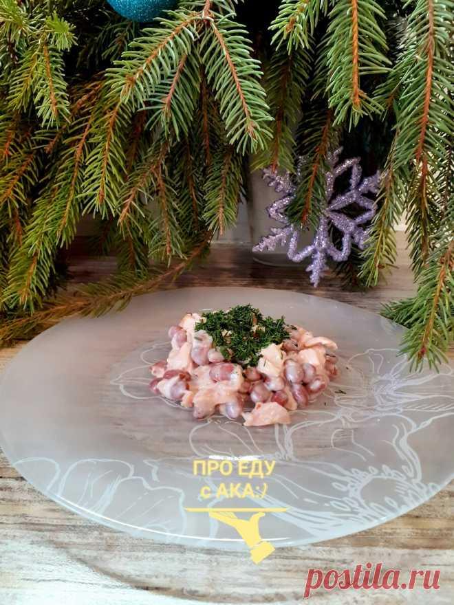 В большие праздники выручает салат