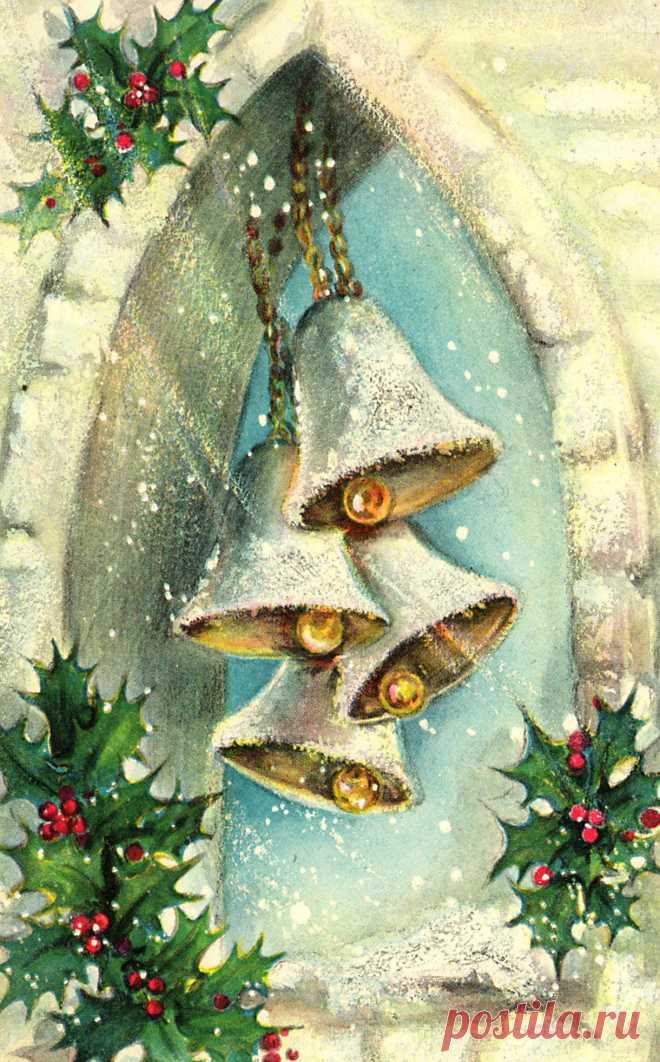 Вкусняшка, новогодние открытки картина