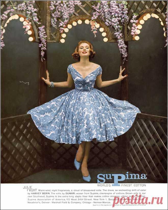 Suzy Parker , Harper's Bazaar, April 1959