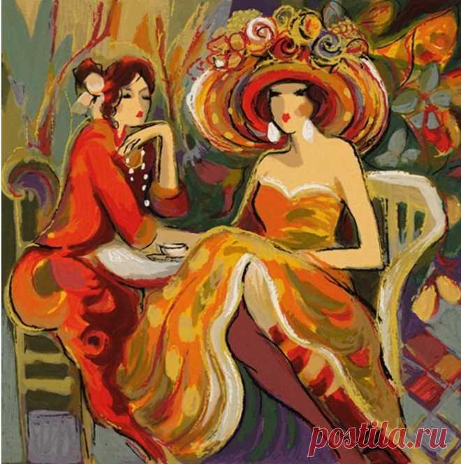 Женщины Парижа. Isaac Maimon