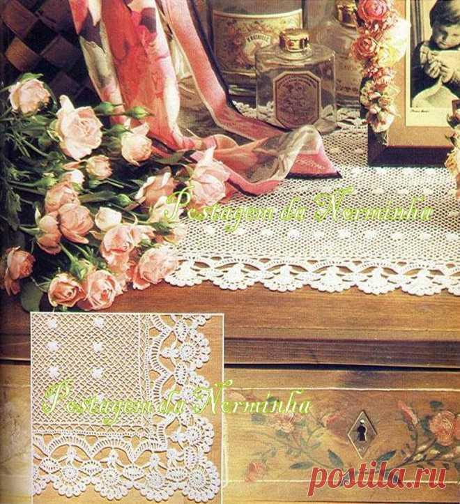 Вязание крючком - кайма,кружево,углы | Записи в рубрике Вязание крючком - кайма,кружево,углы | Дневник Басёна