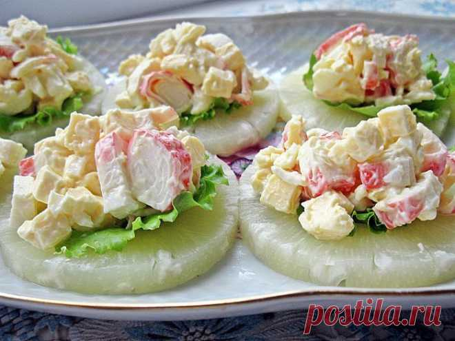La colación de piña con el queso - koko.by
