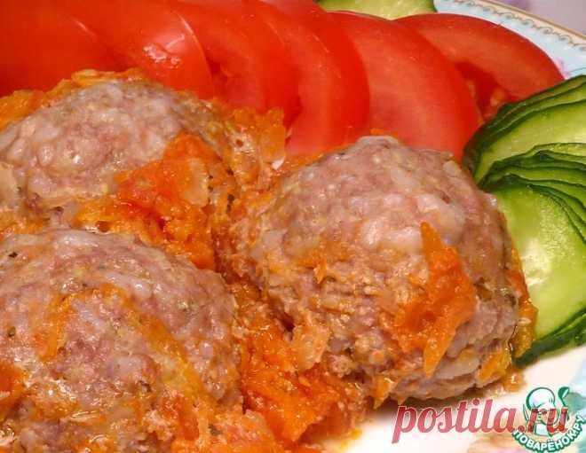 Тефтели с кабачком в томатном соусе – кулинарный рецепт