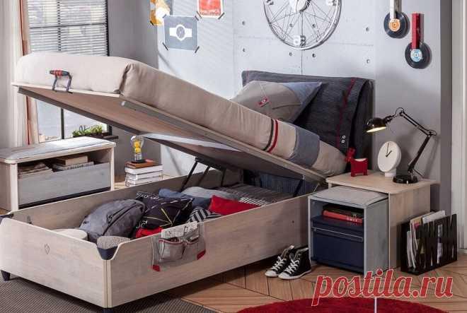 Как выбрать современную кровать для комнаты подростков   Дизайн и Фото   Яндекс Дзен