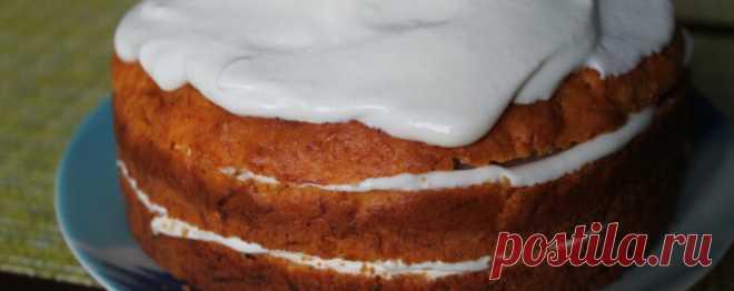 Торт из рисовой муки и тыквы - Диетический рецепт ПП с фото и видео - Калорийность БЖУ