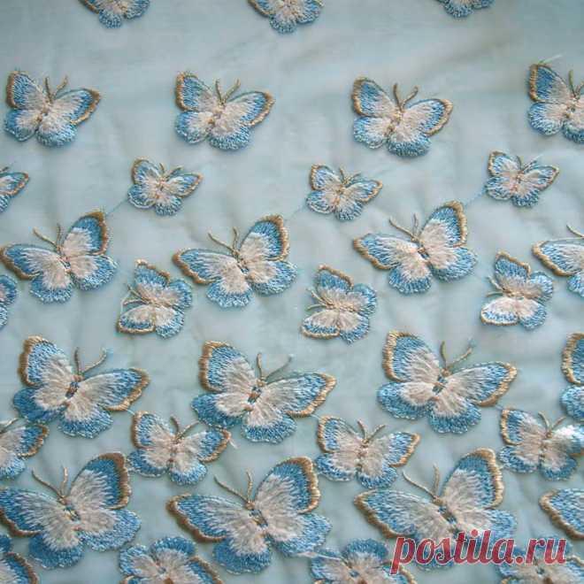 Купить ткань сетка с вышивкой yk6180 дешево Ք оптом Москва | Продажа ткани ☆ МегаТкани