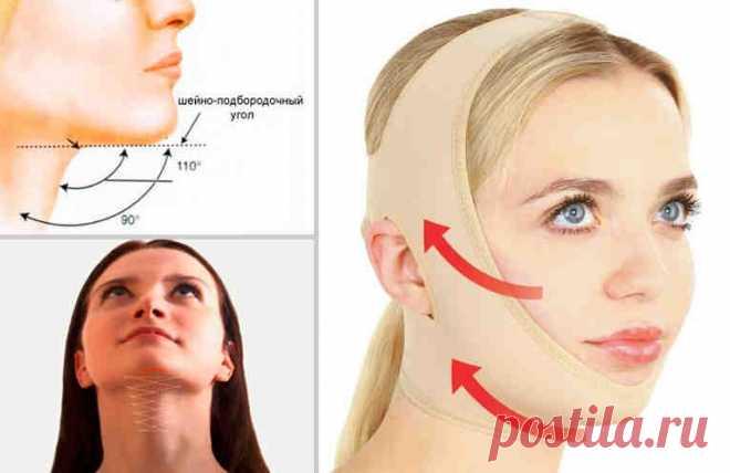 ЗНАМЕНИТАЯ французская повязка красоты — подтягивает овал лица без операций | Женское здоровье