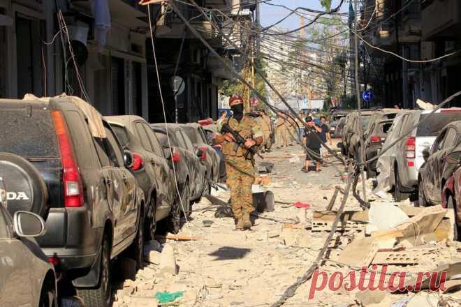 Печальные фотографии и видео разрушенного Бейрута после взрыва | VestiNewsRF.Ru