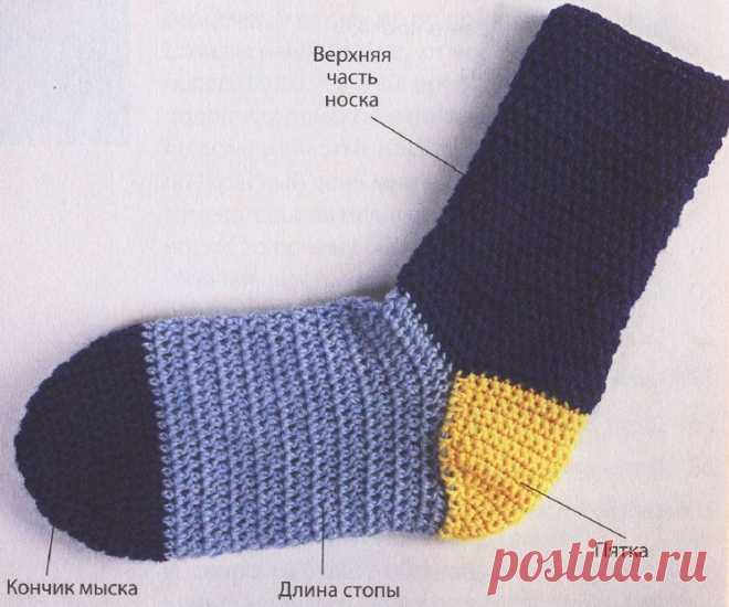 носки крючком вязание носков крючком для начинающих с пошаговым