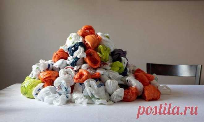 Как повторно использовать полиэтиленовые пакеты