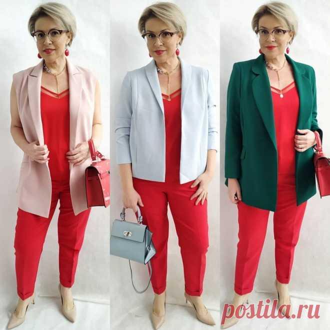 10 необычных сочетаний с красными брюками, которые сделают вас моложе!   Стильно - не значит дорого!   Яндекс Дзен