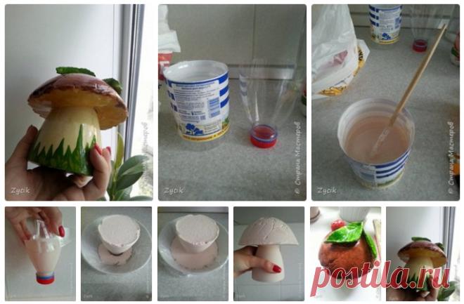 Как сделать своим рукам гриб