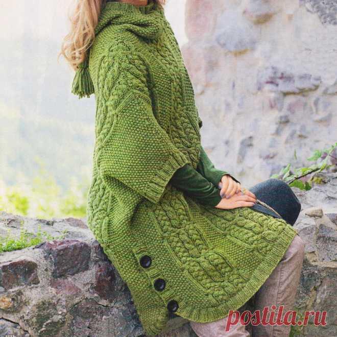 Успеть связать для осени Пуловеры на любой вкус, кейпы и пулундер спицами | Всё лучшее - маме | Яндекс Дзен
