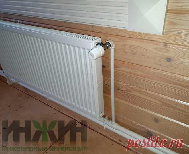 Монтаж отопления в деревянном доме, фото 809