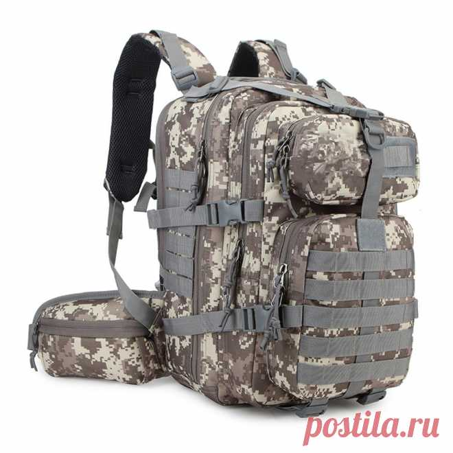 35l military tactical bag army backpack rucksack outdoor camping hiking trekking bag Sale