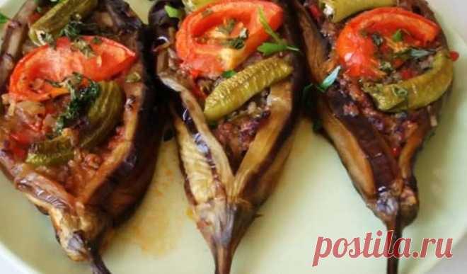 Баклажаны запеченные в духовке с мясом по-турецки — гениально просто и вкусно! — Мир интересного