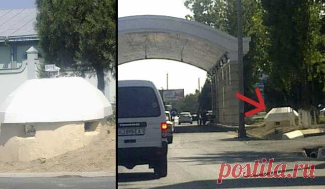 На въезде в Ташкент установили пулеметные ДОТы - Новости - Общество - Голос России