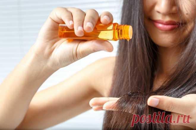 Шикарные волосы при помощи касторового масла