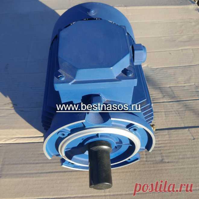 Запчасть электродвигатель насоса Бурун СХ 0,75 кВт, 3000 об/мин