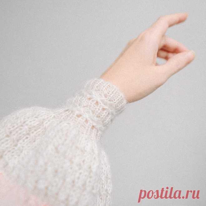 Такой резинки вы ещё не видели (спицы). Рассказываю, как вязать красивую вставку в манжеты и планки   Рекомендательная система Пульс Mail.ru