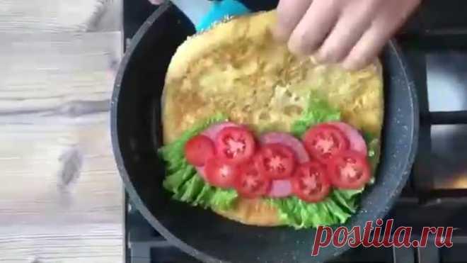 Простой и вкусный завтрак за 5 минут