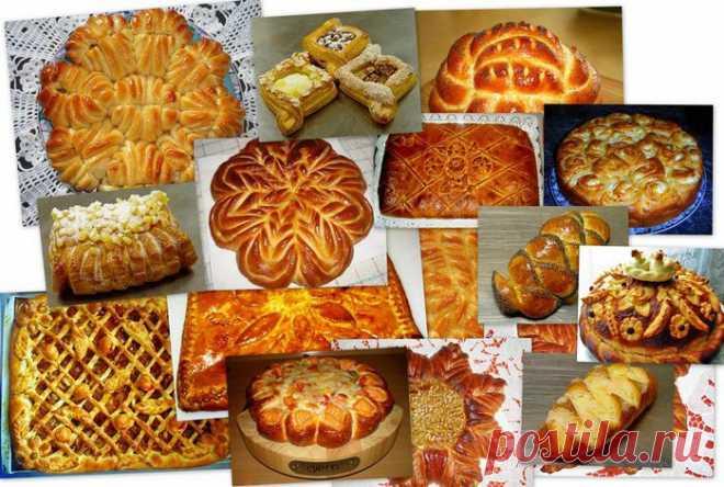 Супер сайт!!! Оформление (разделка) пирогов и булок. Мастер-классы от Valentina Zurkan.